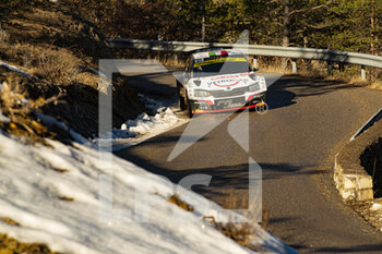 24/01/2021 - during the 2021 WRC World Rally Car Championship, Monte Carlo rally on January 20 to 24, 2021 at Monaco - Photo Grégory Lenormand / DPPI - 2021 WRC WORLD RALLY CAR CHAMPIONSHIP, MONTE CARLO - SUNDAY - RALLY - MOTORI