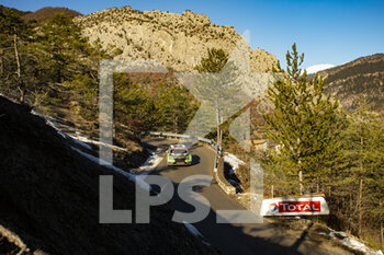 24/01/2021 - 32 Cedric DE CECCO, Jerome HUMBLET (BEL), CEDRIC DE CECCO (BEL), SKODAFabia Evo, RC2 Rally2, action during the 2021 WRC World Rally Car Championship, Monte Carlo rally on January 20 to 24, 2021 at Monaco - Photo Grégory Lenormand / DPPI - 2021 WRC WORLD RALLY CAR CHAMPIONSHIP, MONTE CARLO - SUNDAY - RALLY - MOTORI