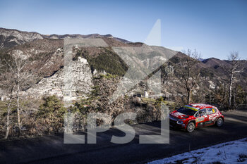 24/01/2021 - 24 Eric CAMILLI (FRA), Francois-Xavier BURESI (FRA), SPORTS & YOU CITROEN C3, RC2 Rally2, action during the 2021 WRC World Rally Car Championship, Monte Carlo rally on January 20 to 24, 2021 at Monaco - Photo Francois Flamand / DPPI - 2021 WRC WORLD RALLY CAR CHAMPIONSHIP, MONTE CARLO - SUNDAY - RALLY - MOTORI