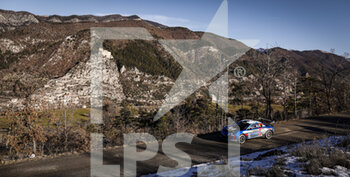 24/01/2021 - 43 Emmanuel GUIGOU (FRA), Alexandre CORIA (FRA), ALPINE A110, RGT RGT cars, action during the 2021 WRC World Rally Car Championship, Monte Carlo rally on January 20 to 24, 2021 at Monaco - Photo Francois Flamand / DPPI - 2021 WRC WORLD RALLY CAR CHAMPIONSHIP, MONTE CARLO - SUNDAY - RALLY - MOTORI