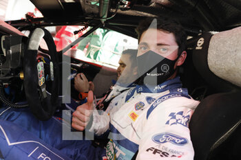24/01/2021 - FOURMAUX Adrien (FRA), FORD Fiesta Mk II, portrait during the 2021 WRC World Rally Car Championship, Monte Carlo rally on January 20 to 24, 2021 at Monaco - Photo Francois Flamand / DPPI - 2021 WRC WORLD RALLY CAR CHAMPIONSHIP, MONTE CARLO - SUNDAY - RALLY - MOTORI
