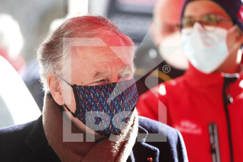 24/01/2021 - TODT Jean, FIA president, portrait during the 2021 WRC World Rally Car Championship, Monte Carlo rally on January 20 to 24, 2021 at Monaco - Photo Francois Flamand / DPPI - 2021 WRC WORLD RALLY CAR CHAMPIONSHIP, MONTE CARLO - SUNDAY - RALLY - MOTORI