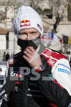 24/01/2021 - OGIER Sebastien (FRA), TOYOTA Yaris WRC, portrait during the 2021 WRC World Rally Car Championship, Monte Carlo rally on January 20 to 24, 2021 at Monaco - Photo Francois Flamand / DPPI - 2021 WRC WORLD RALLY CAR CHAMPIONSHIP, MONTE CARLO - SUNDAY - RALLY - MOTORI