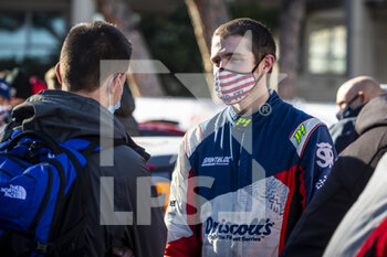 24/01/2021 - JOHNSTON Sean (USA), CITROEN C3, portrait during the 2021 WRC World Rally Car Championship, Monte Carlo rally on January 20 to 24, 2021 at Monaco - Photo Grégory Lenormand / DPPI - 2021 WRC WORLD RALLY CAR CHAMPIONSHIP, MONTE CARLO - SUNDAY - RALLY - MOTORI