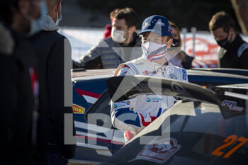 24/01/2021 - Yoann BONATO (FRA), Benjamin BOULLOUD (FRA), CITROEN C3, RC2 Rally2, portrait during the 2021 WRC World Rally Car Championship, Monte Carlo rally on January 20 to 24, 2021 at Monaco - Photo Grégory Lenormand / DPPI - 2021 WRC WORLD RALLY CAR CHAMPIONSHIP, MONTE CARLO - SUNDAY - RALLY - MOTORI