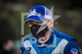 24/01/2021 - GUIGOU Emmanuel (FRA), ALPINE A110, portrait during the 2021 WRC World Rally Car Championship, Monte Carlo rally on January 20 to 24, 2021 at Monaco - Photo Grégory Lenormand / DPPI - 2021 WRC WORLD RALLY CAR CHAMPIONSHIP, MONTE CARLO - SUNDAY - RALLY - MOTORI