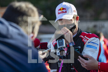 24/01/2021 - OGIER Sebastien (FRA), TOYOTA Yaris WRC, portrait during the 2021 WRC World Rally Car Championship, Monte Carlo rally on January 20 to 24, 2021 at Monaco - Photo Grégory Lenormand / DPPI - 2021 WRC WORLD RALLY CAR CHAMPIONSHIP, MONTE CARLO - SUNDAY - RALLY - MOTORI
