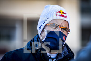 24/01/2021 - NEUVILLE Thierry (BEL), HYUNDAI I20 Coupé WRC, portrait during the 2021 WRC World Rally Car Championship, Monte Carlo rally on January 20 to 24, 2021 at Monaco - Photo Grégory Lenormand / DPPI - 2021 WRC WORLD RALLY CAR CHAMPIONSHIP, MONTE CARLO - SUNDAY - RALLY - MOTORI