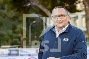 24/01/2021 - Yves Matton, directeur du Rallye à la FIA, portrait, during the 2021 WRC World Rally Car Championship, Monte Carlo rally on January 20 to 24, 2021 at Monaco - Photo Grégory Lenormand / DPPI - 2021 WRC WORLD RALLY CAR CHAMPIONSHIP, MONTE CARLO - SUNDAY - RALLY - MOTORI