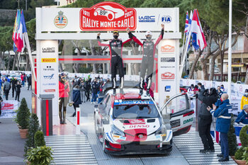 2021 WRC World Rally Car Championship, Monte Carlo - Sunday - RALLY - MOTORI