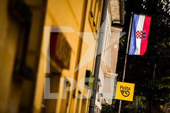 20/04/2021 - Landscape drapeaux, flag recce during the 2021 Croatia Rally, 3rd round of the 2021 FIA WRC, FIA World Rally Car Championship, from April 22 to 25, 2021 in Zagreb, Croatia - Photo Bastien Roux / DPPI - 2021 CROATIA RALLY, 3RD ROUND OF THE 2021 FIA WRC, WORLD RALLY CAR CHAMPIONSHIP - RALLY - MOTORI