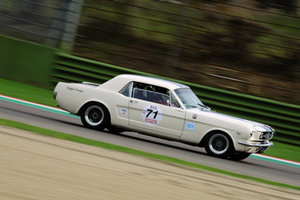 27/10/2018 - Stéphane GUYOT-SIONNEST su Ford Mustang 289 - IMOLA CLASSIC 2018 - STORICHE - MOTORI