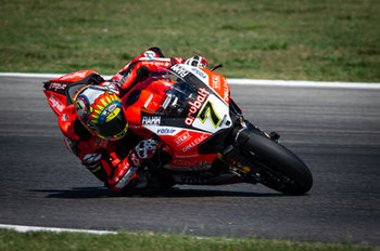 Chaz Davies during SP2 in Misano - Pirelli Riviera di Rimini Round - Saturday - SUPERBIKE - MOTORI
