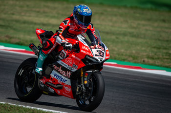 Marco Melandri during SP2 in Misano - Pirelli Riviera di Rimini Round - Saturday - SUPERBIKE - MOTORI