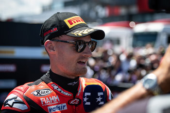 Chaz Davies during race 1 in Misano - Pirelli Riviera di Rimini Round - Saturday - SUPERBIKE - MOTORI