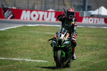 Jonathan Rea during race 1 in Misano - Pirelli Riviera di Rimini Round - Saturday - SUPERBIKE - MOTORI