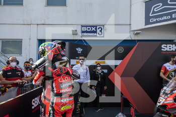 18/10/2020 - N°7 Chaz Davies GBR Ducati Panigale V4R ARUBA.IT Racing - Ducati
