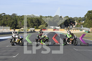 18/10/2020 - Official photo of the winners of the WSBK categories