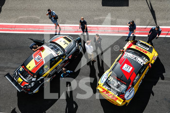 11/09/2020 - 16 Magnus Gilles (bel), Comtoyou Racing, Audi LMS, 31 Coronel Tom (ned), Comtoyou DHL Team Audi Sport, Audi LMS, during the 2020 FIA WTCR Race of Belgium, 1st round of the 2020 FIA World Touring Car Cup, on the Circuit Zolder, from September 11 to 13, 2020 in Zolder, Belgium - Photo Fr - FIA WORLD TOURING CAR CUP 2020 - BELGIO - TURISMO E GRAN TURISMO - MOTORI
