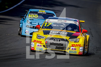 11/09/2020 - 17 Berthon Nathanael (fra), Comtoyou DHL Team Audi Sport, Audi LMS, action during the 2020 FIA WTCR Race of Belgium, 1st round of the 2020 FIA World Touring Car Cup, on the Circuit Zolder, from September 11 to 13, 2020 in Zolder, Belgium - Photo Paulo Maria / DPPI - FIA WORLD TOURING CAR CUP 2020 - BELGIO - TURISMO E GRAN TURISMO - MOTORI