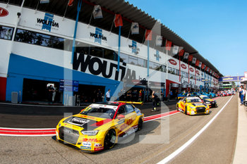 11/09/2020 - 17 Berthon Nathanael (fra), Comtoyou DHL Team Audi Sport, Audi LMS, action 31 Coronel Tom (ned), Comtoyou DHL Team Audi Sport, Audi LMS, action during the 2020 FIA WTCR Race of Belgium, 1st round of the 2020 FIA World Touring Car Cup, on the Circuit Zolder, from September 11 to 13, 2020 in Zolder, Belgium - Photo Fr - FIA WORLD TOURING CAR CUP 2020 - BELGIO - TURISMO E GRAN TURISMO - MOTORI
