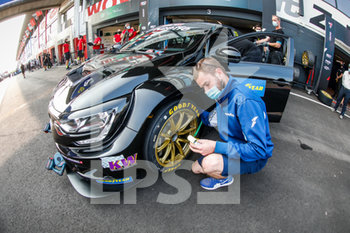 11/09/2020 - Good Year tyre, pneu, during the 2020 FIA WTCR Race of Belgium, 1st round of the 2020 FIA World Touring Car Cup, on the Circuit Zolder, from September 11 to 13, 2020 in Zolder, Belgium - Photo Fr - FIA WORLD TOURING CAR CUP 2020 - BELGIO - TURISMO E GRAN TURISMO - MOTORI