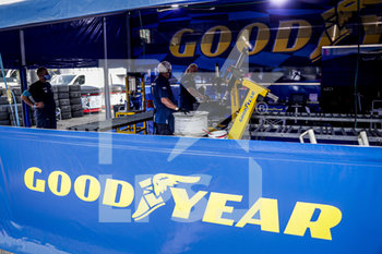 11/09/2020 - Goodyear tyre, pneu, during the 2020 FIA WTCR Race of Belgium, 1st round of the 2020 FIA World Touring Car Cup, on the Circuit Zolder, from September 11 to 13, 2020 in Zolder, Belgium - Photo Paulo Maria / DPPI - FIA WORLD TOURING CAR CUP 2020 - BELGIO - TURISMO E GRAN TURISMO - MOTORI
