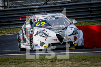 11/09/2020 - 69 Vernay Jean-Karl (fra), Team Mulsanne, Alfa Giulietta TCR, action during the 2020 FIA WTCR Race of Belgium, 1st round of the 2020 FIA World Touring Car Cup, on the Circuit Zolder, from September 11 to 13, 2020 in Zolder, Belgium - Photo Paulo Maria / DPPI - FIA WORLD TOURING CAR CUP 2020 - BELGIO - TURISMO E GRAN TURISMO - MOTORI