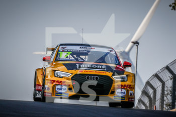 11/09/2020 - 17 Berthon Nathanael (fra), Comtoyou DHL Team Audi Sport, Audi LMS, action during the 2020 FIA WTCR Race of Belgium, 1st round of the 2020 FIA World Touring Car Cup, on the Circuit Zolder, from September 11 to 13, 2020 in Zolder, Belgium - Photo Fr.d.ric Le Floc'h / DPPI - FIA WORLD TOURING CAR CUP 2020 - BELGIO - TURISMO E GRAN TURISMO - MOTORI