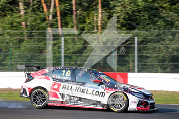 11/09/2020 - 18 Monteiro Tiago (prt), ALL-INKL.DE Munnich Motorsport, Honda Civic TCR, action during the 2020 FIA WTCR Race of Belgium, 1st round of the 2020 FIA World Touring Car Cup, on the Circuit Zolder, from September 11 to 13, 2020 in Zolder, Belgium - Photo Fr - FIA WORLD TOURING CAR CUP 2020 - BELGIO - TURISMO E GRAN TURISMO - MOTORI