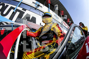 11/09/2020 - Coronel Tom (ned), Comtoyou DHL Team Audi Sport, Audi LMS, portrait during the 2020 FIA WTCR Race of Belgium, 1st round of the 2020 FIA World Touring Car Cup, on the Circuit Zolder, from September 11 to 13, 2020 in Zolder, Belgium - Photo Paulo Maria / DPPI - FIA WORLD TOURING CAR CUP 2020 - BELGIO - TURISMO E GRAN TURISMO - MOTORI