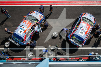 11/09/2020 - 08 Engstler Luca (deu), Engstler Hyundai N Liqui Moly Racing Team, Hyundai i30 N TCR, action 88 Castburg Nicky (nld), Engstler Hyundai N Liqui Moly Racing Team, Hyundai i30 N TCR, action pitlane, during the 2020 FIA WTCR Race of Belgium, 1st round of the 2020 FIA World Touring Car Cup, on the Circuit Zolder, from September 11 to 13, 2020 in Zolder, Belgium - Photo Fr.d.ric Le Floc'h / DPPI - FIA WORLD TOURING CAR CUP 2020 - BELGIO - TURISMO E GRAN TURISMO - MOTORI