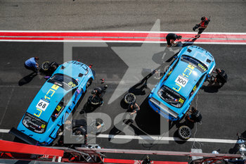 11/09/2020 - 68 Ehrlacher Yann (fra), Cyan Performance Lynk and Co, Lynk and Co 03 TCR, action 100 Muller Yvan (fra), Cyan Performance Lynk and Co, Lynk and Co 03 TCR, action pitlane, during the 2020 FIA WTCR Race of Belgium, 1st round of the 2020 FIA World Touring Car Cup, on the Circuit Zolder, from September 11 to 13, 2020 in Zolder, Belgium - Photo Fr - FIA WORLD TOURING CAR CUP 2020 - BELGIO - TURISMO E GRAN TURISMO - MOTORI
