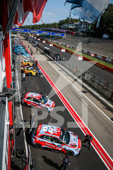 11/09/2020 - pitlane, 01 Michelisz Norbert (hun), BRC Hyundai N LUKOIL Squadra Corse, Hyundai i30 N TCR, action during the 2020 FIA WTCR Race of Belgium, 1st round of the 2020 FIA World Touring Car Cup, on the Circuit Zolder, from September 11 to 13, 2020 in Zolder, Belgium - Photo Fr - FIA WORLD TOURING CAR CUP 2020 - BELGIO - TURISMO E GRAN TURISMO - MOTORI