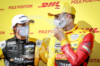 11/09/2020 - Berthon Nathanael (fra), Comtoyou DHL Team Audi Sport, Audi LMS, portrait, Magnus Gilles (bel), Comtoyou Racing, Audi LMS, portrait during the 2020 FIA WTCR Race of Belgium, 1st round of the 2020 FIA World Touring Car Cup, on the Circuit Zolder, from September 11 to 13, 2020 in Zolder, Belgium - Photo Paulo Maria / DPPI - FIA WORLD TOURING CAR CUP 2020 - BELGIO - TURISMO E GRAN TURISMO - MOTORI