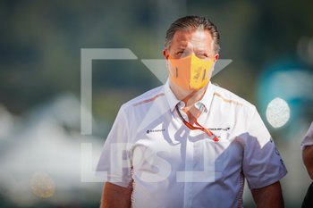 11/09/2020 - BROWN Zak (usa), Chief Executive Officer of McLaren Racing, portrait during the Formula 1 Pirelli Gran Premio Della Toscana Ferrari 1000, 2020 Tuscan Grand Prix, from September 11 to 13, 2020 on the Autodromo Internazionale del Mugello, in Scarperia e San Piero, near Florence, Italy - Photo Antonin Vincent / DPPI - FIA WORLD TOURING CAR CUP 2020 - BELGIO - TURISMO E GRAN TURISMO - MOTORI
