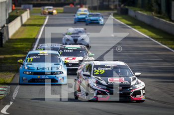 11/09/2020 - 29 Girolami Nestor (arg), ALL-INKL.DE Munnich Motorsport, Honda Civic TCR, action during the 2020 FIA WTCR Race of Belgium, 1st round of the 2020 FIA World Touring Car Cup, on the Circuit Zolder, from September 11 to 13, 2020 in Zolder, Belgium - Photo Paulo Maria / DPPI - FIA WORLD TOURING CAR CUP 2020 - BELGIO - TURISMO E GRAN TURISMO - MOTORI