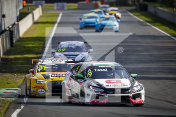 11/09/2020 - 09 Tassi Attila (hun), ALL-INKL.DE Munnich Motorsport, Honda Civic TCR, action during the 2020 FIA WTCR Race of Belgium, 1st round of the 2020 FIA World Touring Car Cup, on the Circuit Zolder, from September 11 to 13, 2020 in Zolder, Belgium - Photo Paulo Maria / DPPI - FIA WORLD TOURING CAR CUP 2020 - BELGIO - TURISMO E GRAN TURISMO - MOTORI