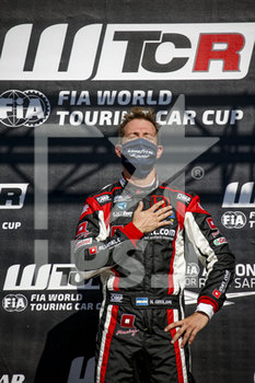 11/09/2020 - Girolami Nestor (arg), ALL-INKL.DE Munnich Motorsport, Honda Civic TCR, portrait podium during the 2020 FIA WTCR Race of Belgium, 1st round of the 2020 FIA World Touring Car Cup, on the Circuit Zolder, from September 11 to 13, 2020 in Zolder, Belgium - Photo Paulo Maria / DPPI - FIA WORLD TOURING CAR CUP 2020 - BELGIO - TURISMO E GRAN TURISMO - MOTORI