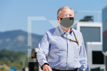 11/09/2020 - TODT Jean (fra), FIA President, portrait during the Formula 1 Pirelli Gran Premio Della Toscana Ferrari 1000, 2020 Tuscan Grand Prix, from September 11 to 13, 2020 on the Autodromo Internazionale del Mugello, in Scarperia e San Piero, near Florence, Italy - Photo Antonin Vincent / DPPI - FIA WORLD TOURING CAR CUP 2020 - BELGIO - TURISMO E GRAN TURISMO - MOTORI