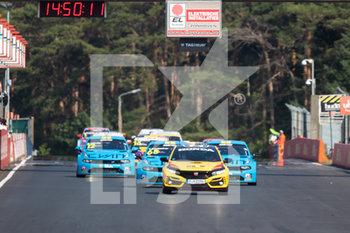 11/09/2020 - safety car, during the 2020 FIA WTCR Race of Belgium, 1st round of the 2020 FIA World Touring Car Cup, on the Circuit Zolder, from September 11 to 13, 2020 in Zolder, Belgium - Photo Fr - FIA WORLD TOURING CAR CUP 2020 - BELGIO - TURISMO E GRAN TURISMO - MOTORI