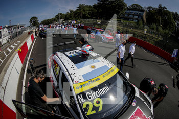 11/09/2020 - 29 Girolami Nestor (arg), ALL-INKL.DE Munnich Motorsport, Honda Civic TCR, action Pre grid Race 2 during the 2020 FIA WTCR Race of Belgium, 1st round of the 2020 FIA World Touring Car Cup, on the Circuit Zolder, from September 11 to 13, 2020 in Zolder, Belgium - Photo Paulo Maria / DPPI - FIA WORLD TOURING CAR CUP 2020 - BELGIO - TURISMO E GRAN TURISMO - MOTORI