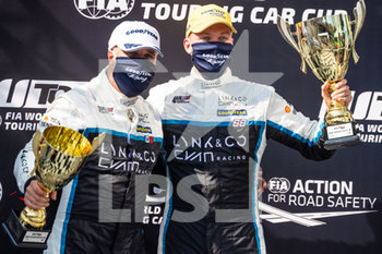 11/09/2020 - Muller Yvan (fra), Cyan Performance Lynk and Co, Lynk and Co 03 TCR, portrait , Ehrlacher Yann (fra), Cyan Performance Lynk and Co, Lynk and Co 03 TCR, portrait , podium, depart, during the 2020 FIA WTCR Race of Belgium, 1st round of the 2020 FIA World Touring Car Cup, on the Circuit Zolder, from September 11 to 13, 2020 in Zolder, Belgium - Photo Fr - FIA WORLD TOURING CAR CUP 2020 - BELGIO - TURISMO E GRAN TURISMO - MOTORI