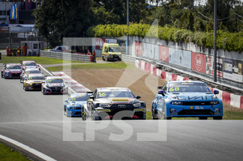 11/09/2020 - 16 Magnus Gilles (bel), Comtoyou Racing, Audi LMS, action, 68 Ehrlacher Yann (fra), Cyan Performance Lynk and Co, Lynk and Co 03 TCR, action Race 2 during the 2020 FIA WTCR Race of Belgium, 1st round of the 2020 FIA World Touring Car Cup, on the Circuit Zolder, from September 11 to 13, 2020 in Zolder, Belgium - Photo Paulo Maria / DPPI - FIA WORLD TOURING CAR CUP 2020 - BELGIO - TURISMO E GRAN TURISMO - MOTORI