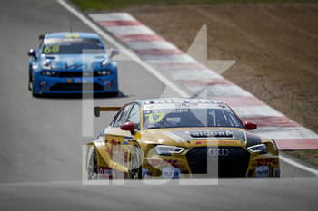 11/09/2020 - 17 Berthon Nathanael (fra), Comtoyou DHL Team Audi Sport, Audi LMS, action Race 2 during the 2020 FIA WTCR Race of Belgium, 1st round of the 2020 FIA World Touring Car Cup, on the Circuit Zolder, from September 11 to 13, 2020 in Zolder, Belgium - Photo Paulo Maria / DPPI - FIA WORLD TOURING CAR CUP 2020 - BELGIO - TURISMO E GRAN TURISMO - MOTORI