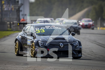 11/09/2020 - 33 O'Keeffe Daryl (aus), Vukovic Motorsport, Renault Megane RS, action Race 2 during the 2020 FIA WTCR Race of Belgium, 1st round of the 2020 FIA World Touring Car Cup, on the Circuit Zolder, from September 11 to 13, 2020 in Zolder, Belgium - Photo Paulo Maria / DPPI - FIA WORLD TOURING CAR CUP 2020 - BELGIO - TURISMO E GRAN TURISMO - MOTORI