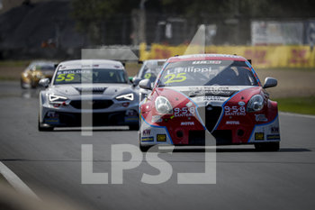 11/09/2020 - 25 Filipi Luca (ita), Team Mulsanne, Alfa Romeo Giulietta TCR, action Race 2 during the 2020 FIA WTCR Race of Belgium, 1st round of the 2020 FIA World Touring Car Cup, on the Circuit Zolder, from September 11 to 13, 2020 in Zolder, Belgium - Photo Paulo Maria / DPPI - FIA WORLD TOURING CAR CUP 2020 - BELGIO - TURISMO E GRAN TURISMO - MOTORI