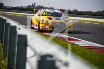 10/10/2020 - 31 Coronel Tom (ned), Comtoyou DHL Team Audi Sport, Audi LMS, action during the 2020 FIA WTCR Race of Slovakia, 3rd round of the 2020 FIA World Touring Car Cup, on the Automotodrom Slovakia Ring, from October 9 to 11, 2020 in Orechova Poton, Slovakia - Photo Florent Gooden / DPPI - 2020 FIA WTCR RACE OF SLOVAKIA, 3RD ROUND OF THE WORLD TOURING CAR CUP - TURISMO E GRAN TURISMO - MOTORI