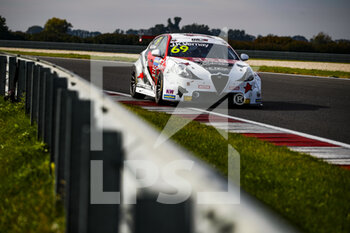 10/10/2020 - 69 Vernay Jean-Karl (fra), Team Mulsanne, Alfa Giulietta TCR, action during the 2020 FIA WTCR Race of Slovakia, 3rd round of the 2020 FIA World Touring Car Cup, on the Automotodrom Slovakia Ring, from October 9 to 11, 2020 in Orechova Poton, Slovakia - Photo Florent Gooden / DPPI - 2020 FIA WTCR RACE OF SLOVAKIA, 3RD ROUND OF THE WORLD TOURING CAR CUP - TURISMO E GRAN TURISMO - MOTORI