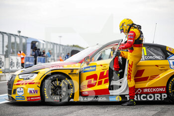 10/10/2020 - Coronel Tom (ned), Comtoyou DHL Team Audi Sport, Audi LMS, portrait during the 2020 FIA WTCR Race of Slovakia, 3rd round of the 2020 FIA World Touring Car Cup, on the Automotodrom Slovakia Ring, from October 9 to 11, 2020 in Orechova Poton, Slovakia - Photo Florent Gooden / DPPI - 2020 FIA WTCR RACE OF SLOVAKIA, 3RD ROUND OF THE WORLD TOURING CAR CUP - TURISMO E GRAN TURISMO - MOTORI